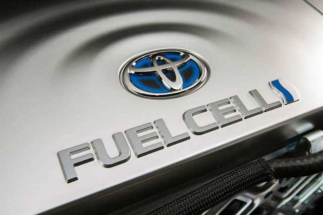 丰田汽车再向一家中国公司提供氢燃料电池组件