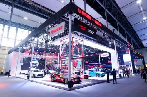 新技术 新征程:明星车型领衔 东风风神品牌全系车型亮相广州车展